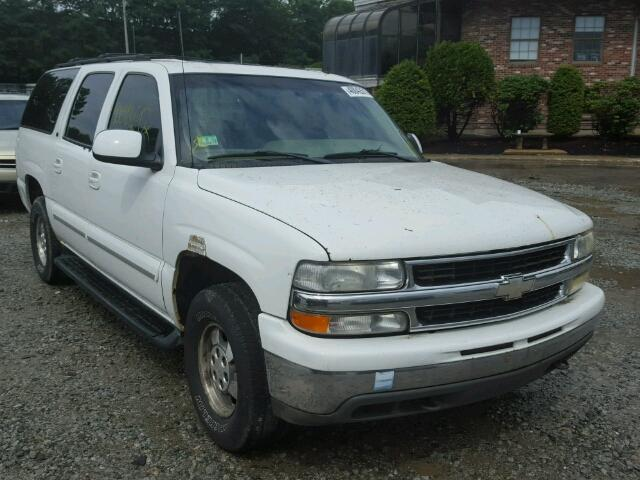 1GNFK16Z12J235396 - 2002 CHEVROLET SUBURBAN WHITE photo 1