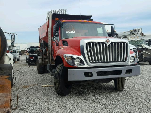 1HTWCAAR8CJ087488 - 2012 INTERNATIONAL 7000 7400 RED photo 1