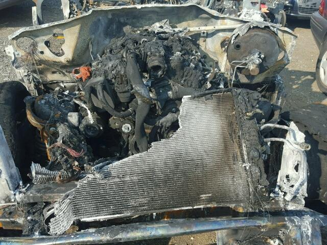 BURNED - 2016 FORD F150 SUPER GRAY photo 7