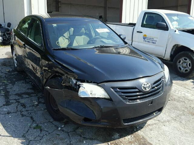 4T1BE46K07U131194 - 2007 TOYOTA CAMRY NEW BLACK photo 1