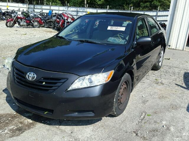 4T1BE46K07U131194 - 2007 TOYOTA CAMRY NEW BLACK photo 2