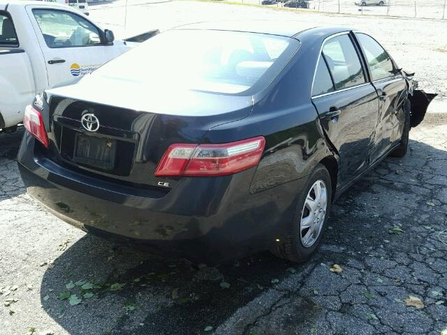 4T1BE46K07U131194 - 2007 TOYOTA CAMRY NEW BLACK photo 4