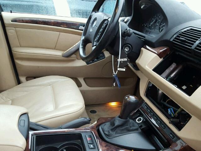 5UXFB53516LV22523 - 2006 BMW X5 4.4I WHITE photo 5