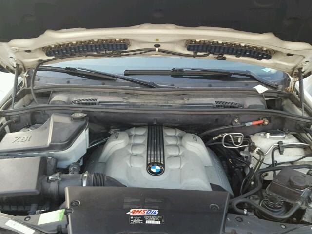 5UXFB53516LV22523 - 2006 BMW X5 4.4I WHITE photo 7