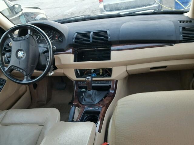 5UXFB53516LV22523 - 2006 BMW X5 4.4I WHITE photo 9