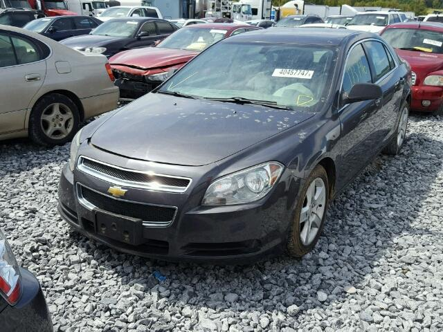 1G1ZA5E17BF215824 - 2011 CHEVROLET MALIBU LS CHARCOAL photo 2