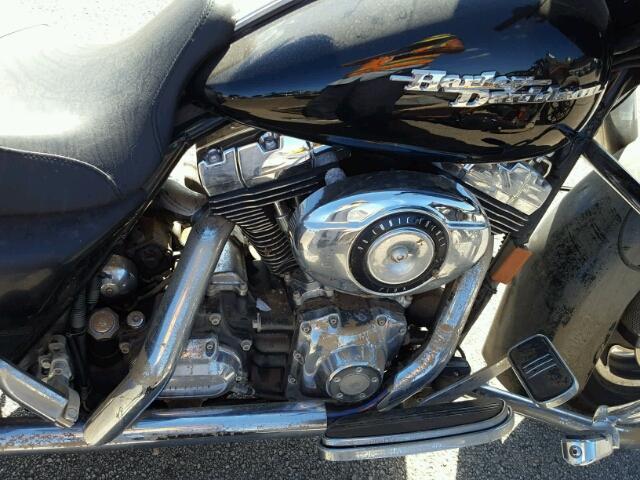 1HD1KB4108Y703347 - 2008 HARLEY-DAVIDSON FLHX BLACK photo 7