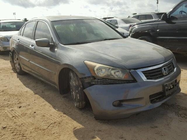 1HGCP368X8A031416 - 2008 HONDA ACCORD EXL GRAY photo 1