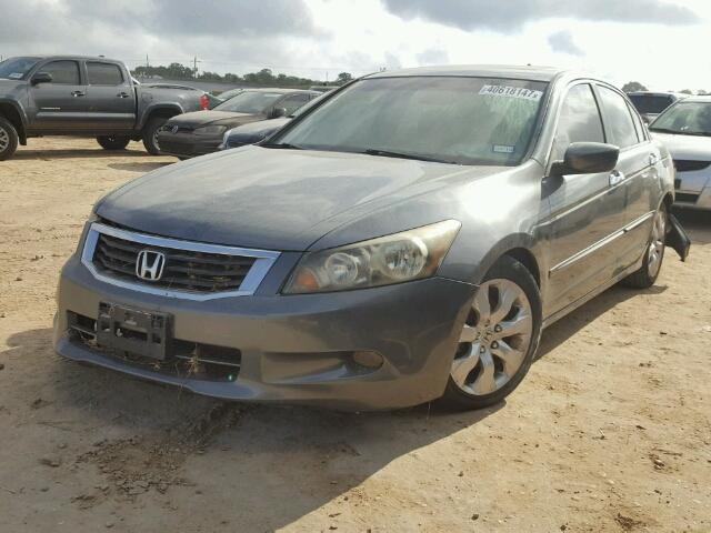 1HGCP368X8A031416 - 2008 HONDA ACCORD EXL GRAY photo 2