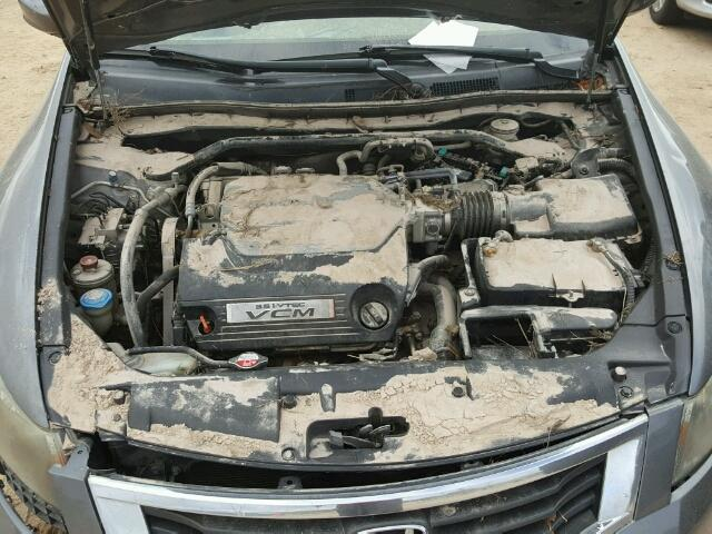 1HGCP368X8A031416 - 2008 HONDA ACCORD EXL GRAY photo 7