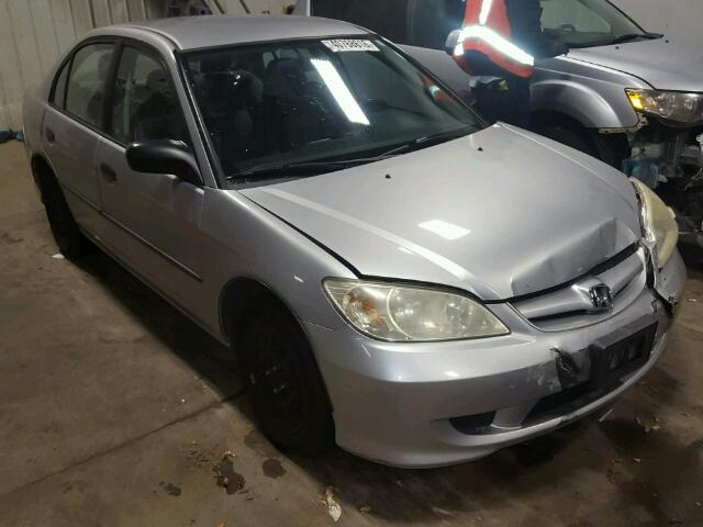 2HGES16314H543903   2004 HONDA CIVIC DX V GRAY Photo 1