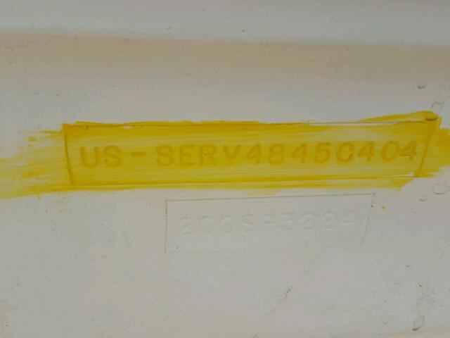 SERV4845C404 - 2004 SEAR MARINE/TRL WHITE photo 10