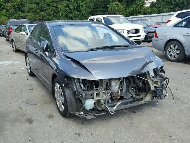 2HGFA1F5XBH302461 - 2011 HONDA CIVIC LX GRAY photo 1