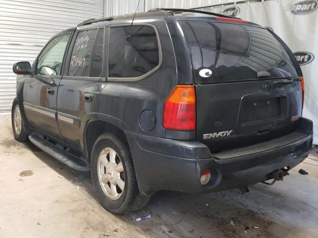 1GKDS13S432244228 - 2003 GMC ENVOY CHARCOAL photo 3