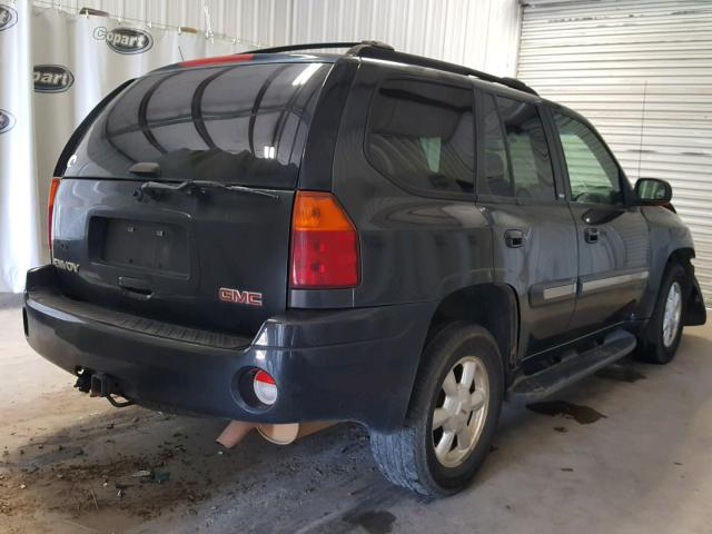 1GKDS13S432244228 - 2003 GMC ENVOY CHARCOAL photo 4