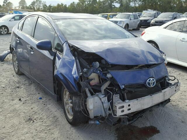 JTDKN3DU2B1399404 - 2011 TOYOTA PRIUS BLUE photo 1