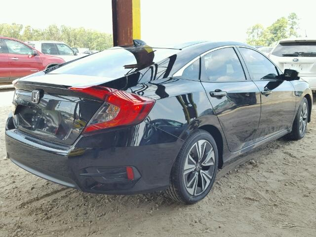 2HGFC1F77HH645975 - 2017 HONDA CIVIC EXL BLACK photo 4