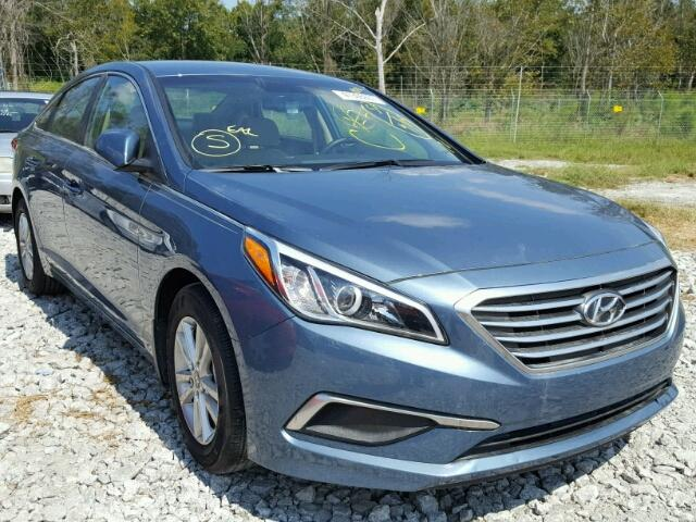 5NPE24AFXHH526404 - 2017 HYUNDAI SONATA SE BLUE photo 1