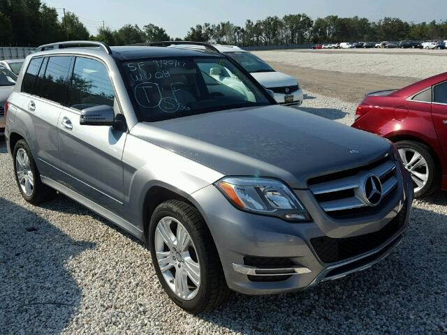 WDCGG5HB9EG258149 - 2014 MERCEDES-BENZ GLK SILVER photo 1