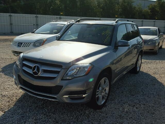 WDCGG5HB9EG258149 - 2014 MERCEDES-BENZ GLK SILVER photo 2