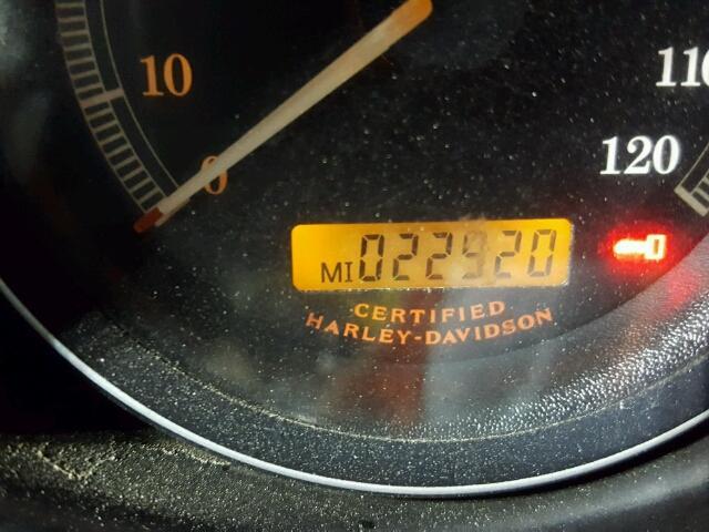 1HD1FCW1X6Y701416 - 2006 HARLEY-DAVIDSON FLHTCUI BURGUNDY photo 8