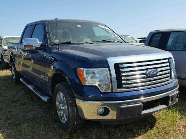 1FTFW1CT6BFB76782 - 2011 FORD F150 SUPER BLUE photo 1
