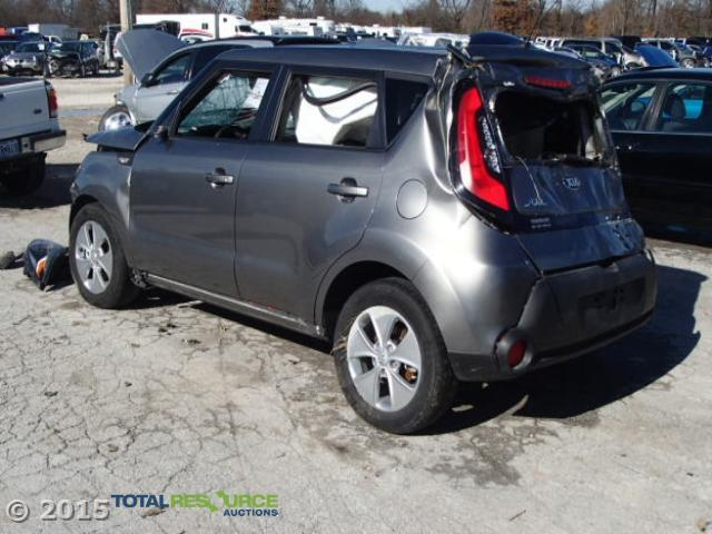 KNDJN2A20E7110983   2014 KIA SOUL GRAY Photo 4