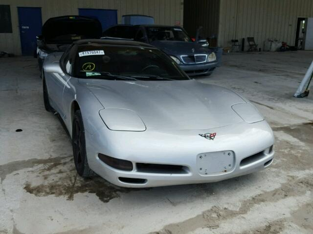 1G1YY22G115107430 - 2001 CHEVROLET CORVETTE SILVER photo 1