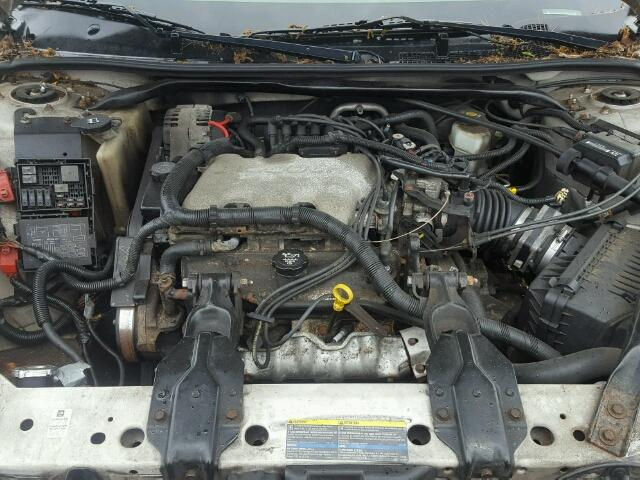 2G1WW12E739334116 - 2003 CHEVROLET MONTE CARL SILVER photo 7