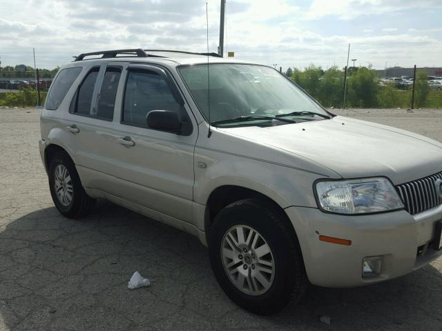 4M2YU91157KJ13597 - 2007 MERCURY MARINER CREAM photo 1
