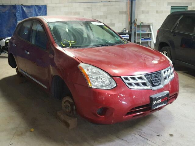 JN8AS5MV9BW312551 - 2011 NISSAN ROGUE RED photo 1