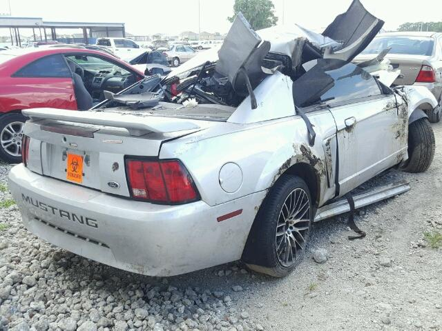 1FAFP40664F161009 - 2004 FORD MUSTANG SILVER photo 4