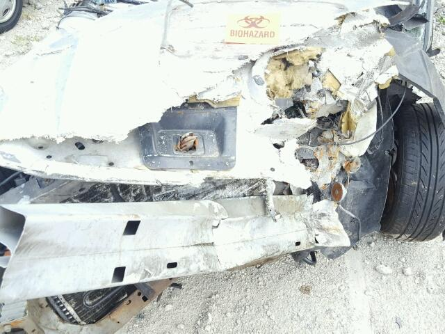 1FAFP40664F161009 - 2004 FORD MUSTANG SILVER photo 7