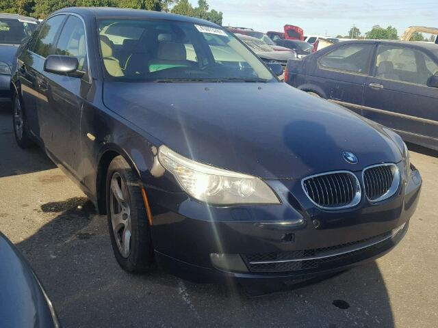 WBANW13588CZ81574 - 2008 BMW 535 I BLACK photo 1