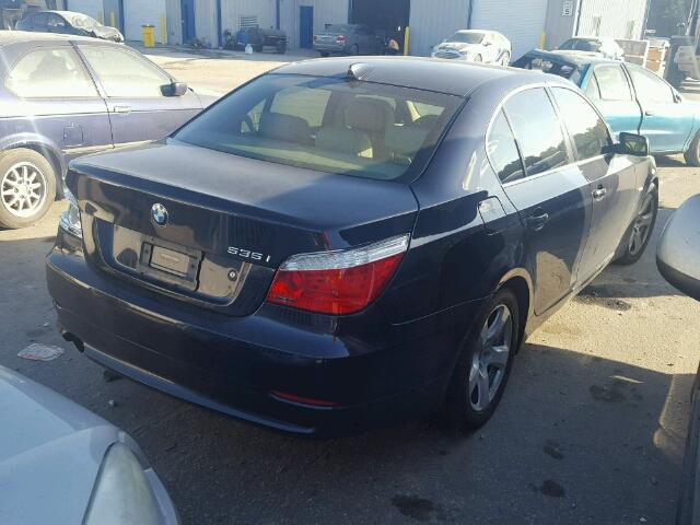WBANW13588CZ81574 - 2008 BMW 535 I BLACK photo 4