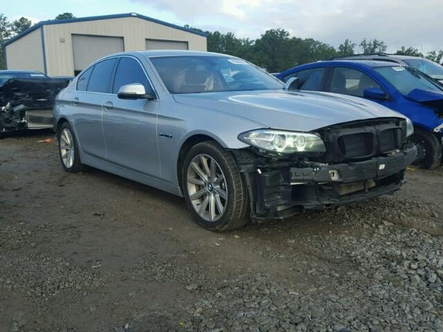 WBA5B1C59ED476595 - 2014 BMW 535 SILVER photo 1