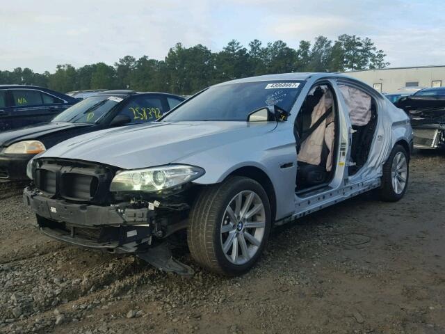 WBA5B1C59ED476595 - 2014 BMW 535 SILVER photo 2