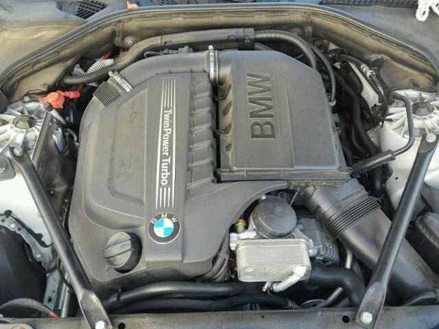 WBA5B1C59ED476595 - 2014 BMW 535 SILVER photo 7