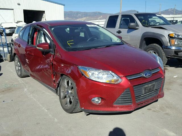 1FADP3K21DL255876 - 2013 FORD FOCUS SE RED photo 1