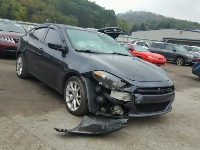 1C3CDFBA4DD298999 - 2013 DODGE DART SXT CHARCOAL photo 1