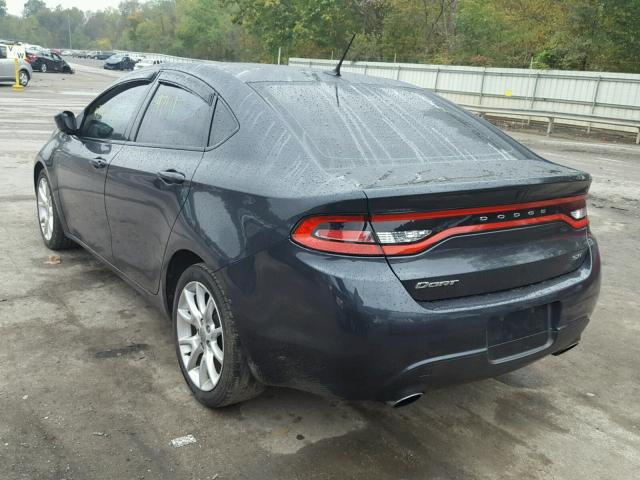 1C3CDFBA4DD298999 - 2013 DODGE DART SXT CHARCOAL photo 3