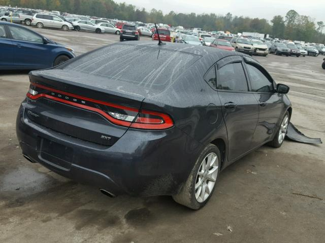 1C3CDFBA4DD298999 - 2013 DODGE DART SXT CHARCOAL photo 4