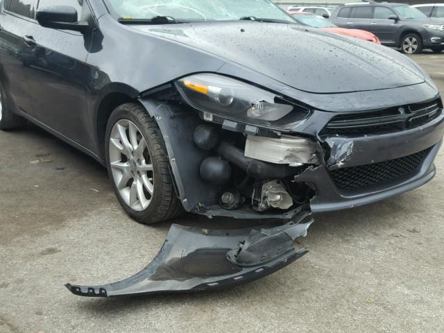 1C3CDFBA4DD298999 - 2013 DODGE DART SXT CHARCOAL photo 9