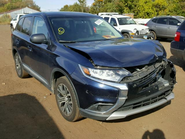 JA4AZ2A37HZ001629 - 2017 MITSUBISHI OUTLANDER BLUE photo 1