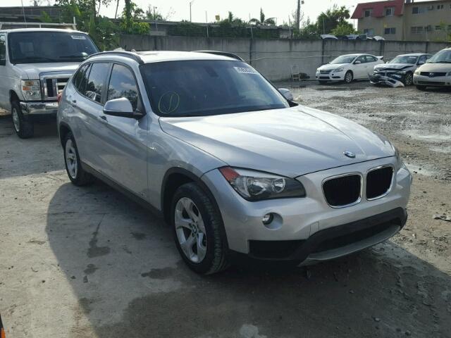 WBAVM1C5XEVW55801 - 2014 BMW X1 SILVER photo 1