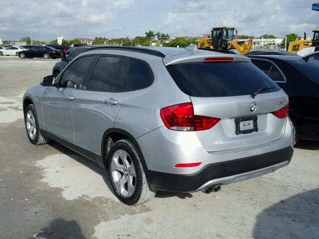 WBAVM1C5XEVW55801 - 2014 BMW X1 SILVER photo 3