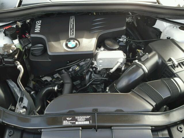 WBAVM1C5XEVW55801 - 2014 BMW X1 SILVER photo 7