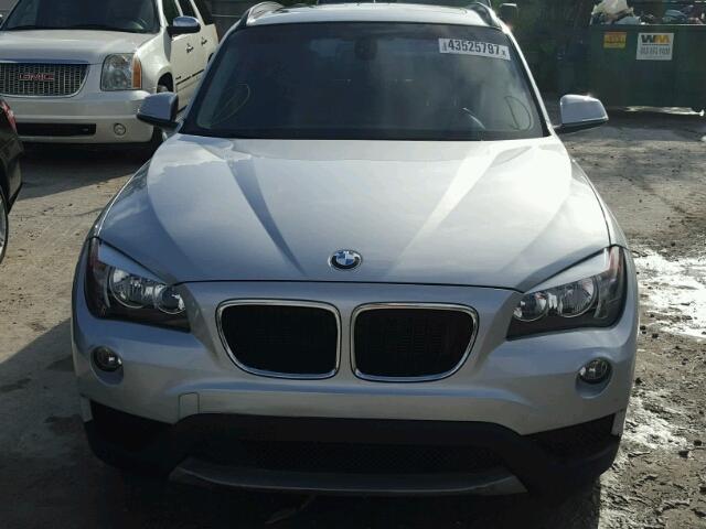 WBAVM1C5XEVW55801 - 2014 BMW X1 SILVER photo 9