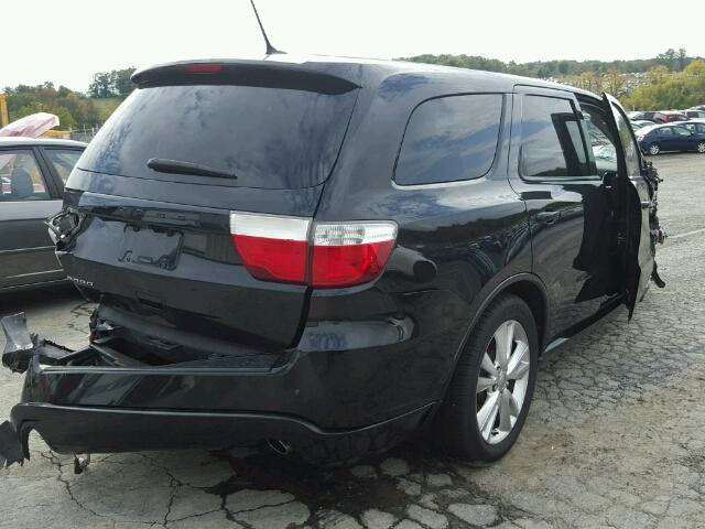 1D4RE3GGXBC687375 - 2011 DODGE DURANGO HE BLACK photo 4