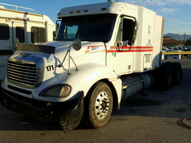 1FUJA6CK89LAD2795 - 2009 FREIGHTLINER CONVENTION WHITE photo 2